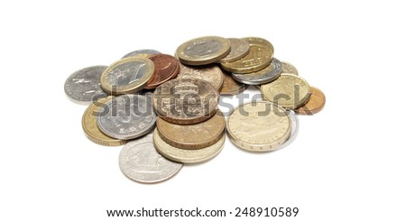 Business and Finance, Money, Foreign Coins