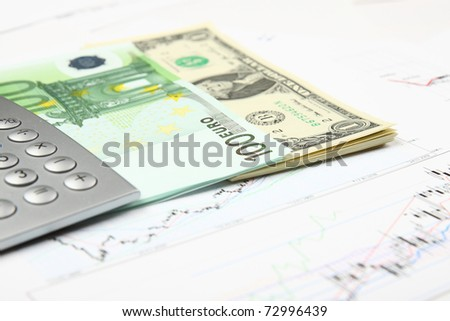 Business and financial still life - stock photo