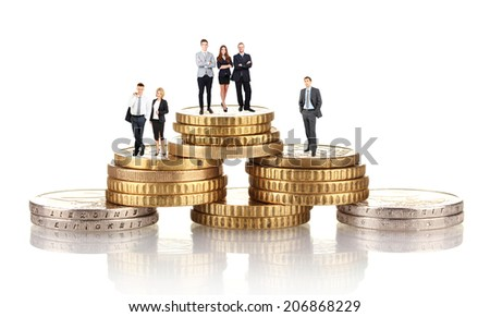 Business and money concept - stock photo