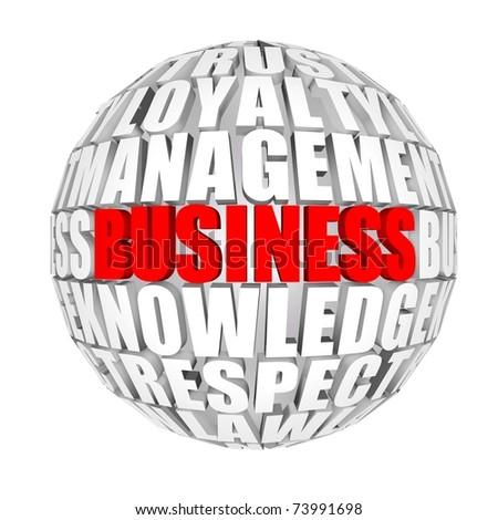 business around us - stock photo