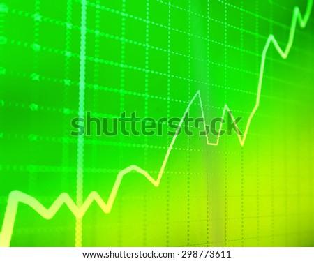 Business background. Market Analyze.Bar graphs, diagrams, financial figures. Forex. - stock photo