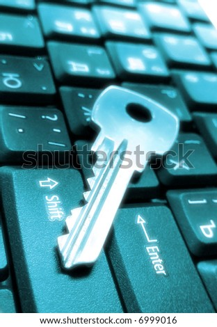 Business background. Mortgage concept. Keys and laptop keyboard. Lawyer office. Office computer. Computer keyboard. Keyboards buttons, mortgage office. Loan money concept, business style
