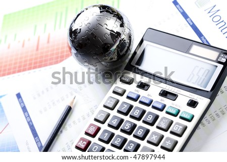 Business balance - stock photo