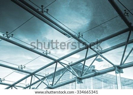 Business building,abstract patterns - stock photo