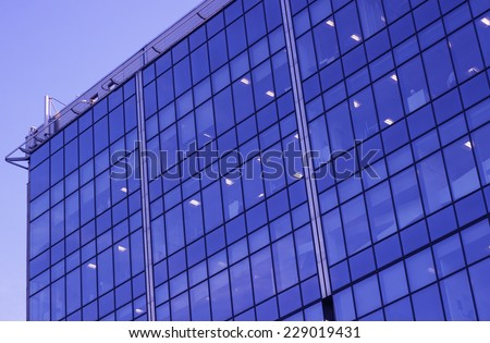 Business Building office Apartment windows glass
