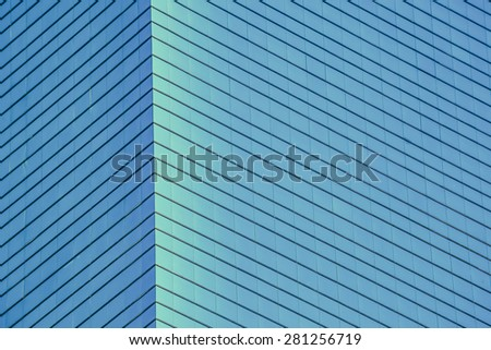 Business building window background - stock photo