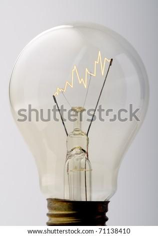 business bulb - stock photo
