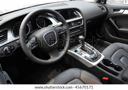 Business car interior