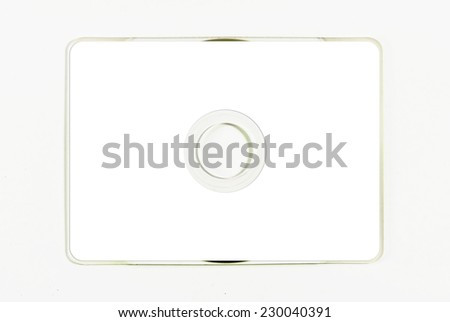 Business Card CD-Rom - stock photo