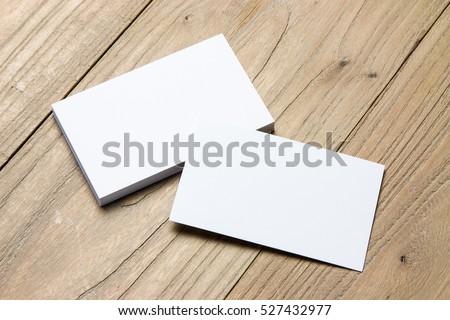 Business card on wood foto stock 527432977 shutterstock business card on wood reheart Choice Image