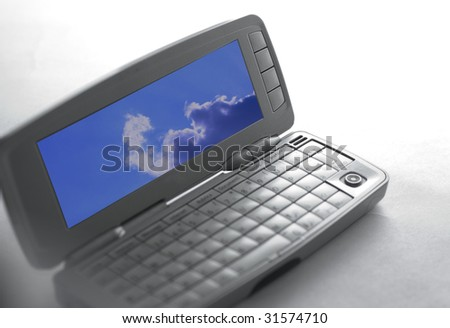 Business Cellphone - stock photo