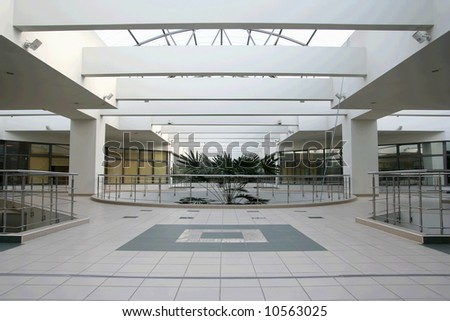 Business center interior - stock photo