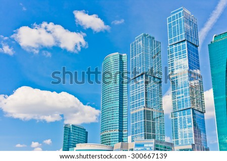 Business Center Moscow City, Russia,  East Europe