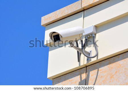 Business Center Outdoor CCTV