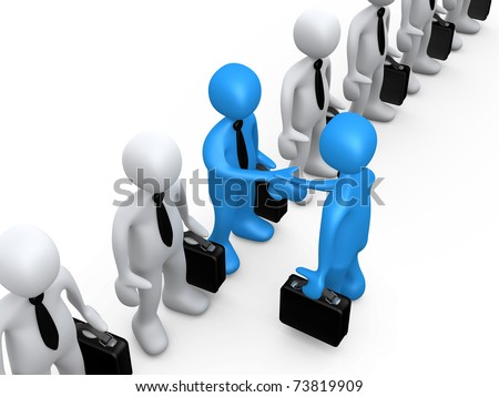 Business Choice - stock photo