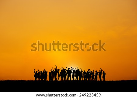 Business Collaboration Colleague Occupation Partnership Teamwork Concept - stock photo