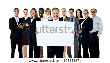 Business collage. Lets get you some more boosted business and profits - stock photo