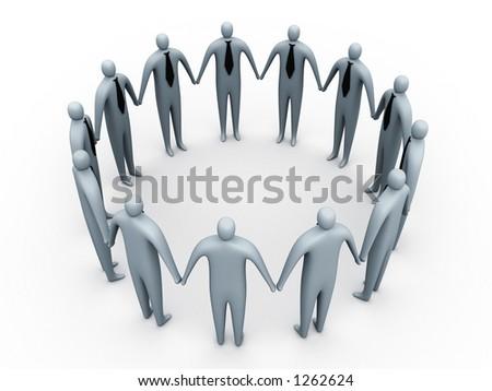 Business Community - stock photo