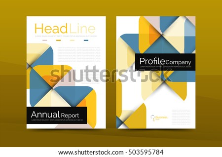 Business Company Profile Brochure Template Corporate Stock - Company profile brochure template