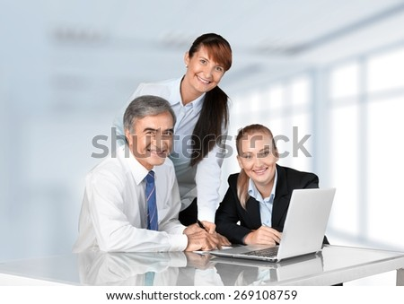 Business, Computer, People.