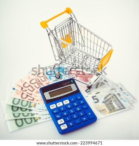 Business concept. shopping concept. - stock photo