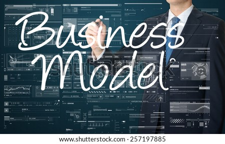 Business Concepts. Business model - stock photo