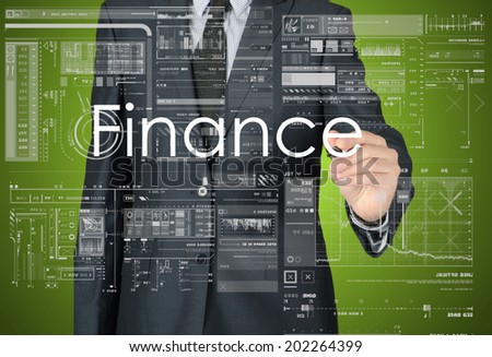 Business Concepts. Finance - stock photo