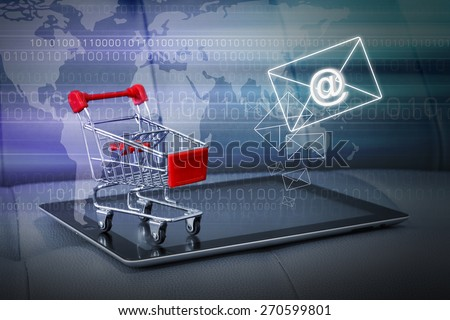 Business concepts of Email marketing - stock photo
