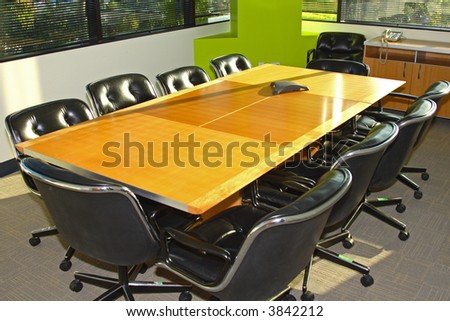 Business conference room - stock photo