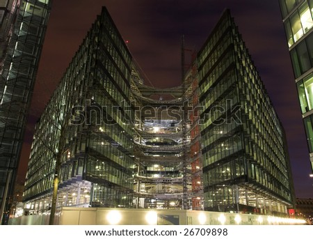 Business construction - stock photo
