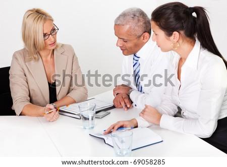 Business Consultation - stock photo