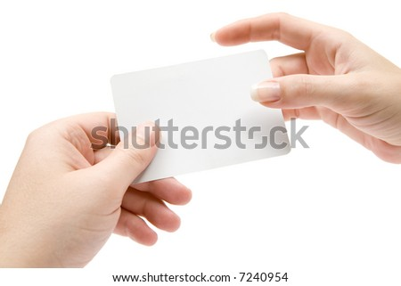 Business Contact - stock photo
