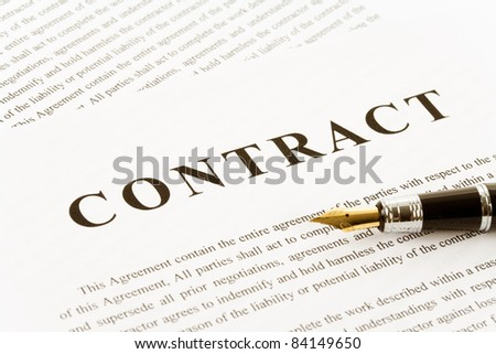letter of agreement contract agreement stock photos images amp pictures 11724