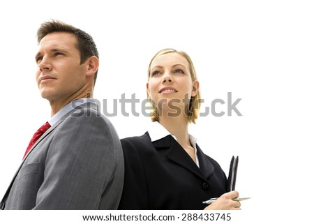 Business Couple - stock photo