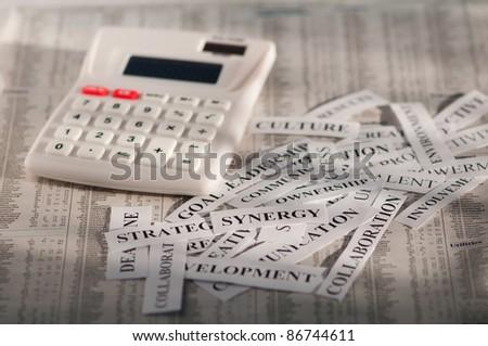 business decision concept - stock photo