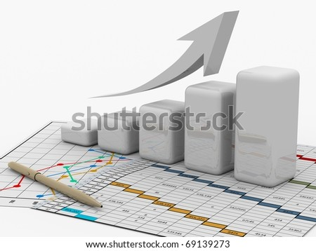 business diagram, chart, bar, graphic