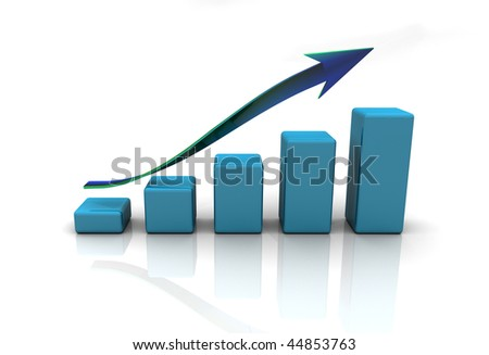 business diaram graph, chart - stock photo