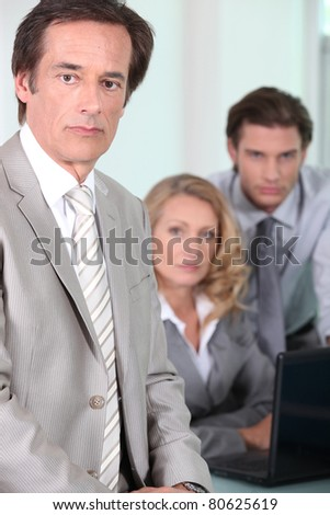 Business director - stock photo