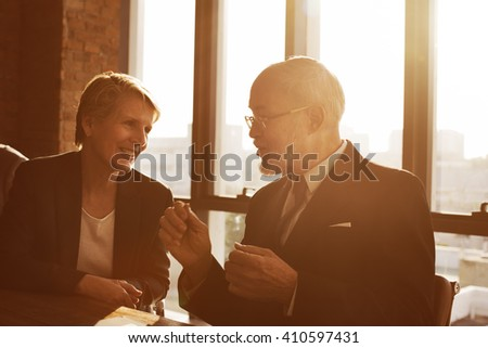 Business Discussion Communication Unity Ideas Concept - stock photo