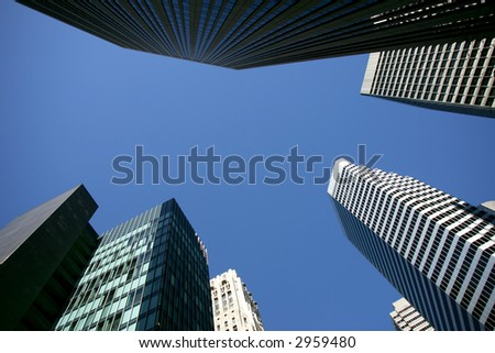 Business district high rises in San Francisco