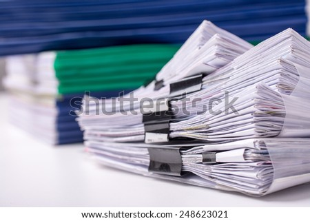 Business?Document - stock photo