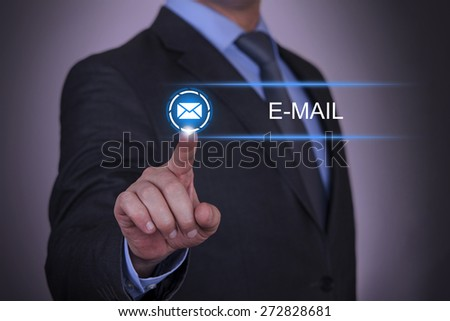 Business Envelope E-Mail - stock photo