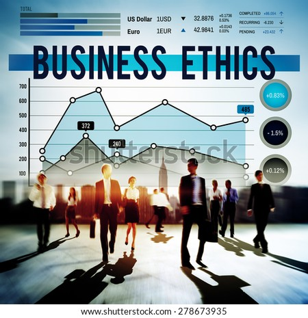 Business Ethnics Ideology Integrity Legal Concept - stock photo