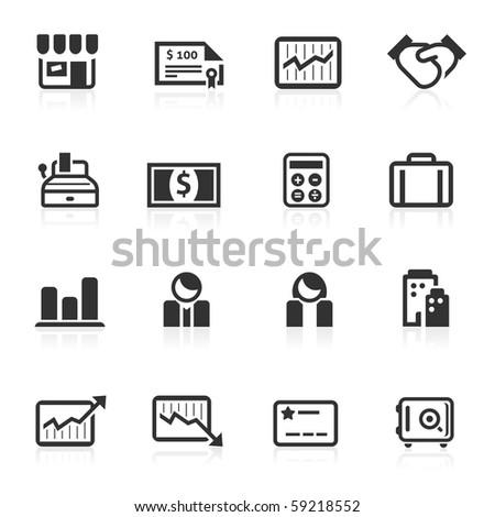 Business & Finance icons - minimo series - stock photo