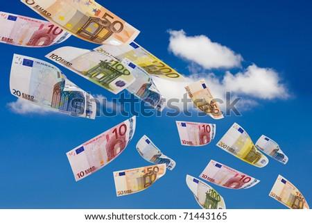 business, finance, money - stock photo