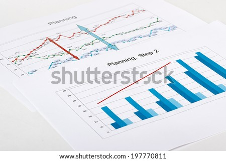 Business graph analysis report.