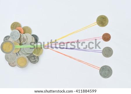 Business graph concept. - stock photo