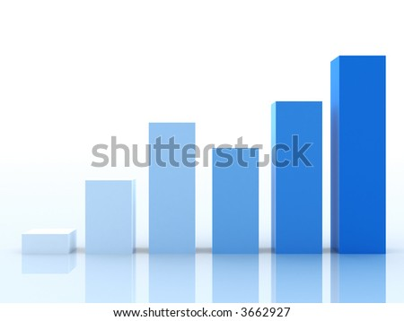 Business Graph: stress - stock photo