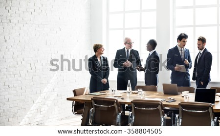 Business Group Meeting Discussion Strategy Working Concept - stock photo