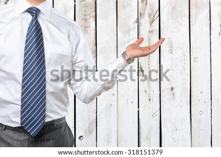 Business hand - stock photo